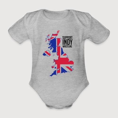 Indy Britain - Organic Short-sleeved Baby Bodysuit