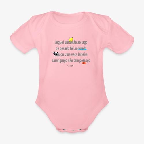 Versinho de infancia - Organic Short-sleeved Baby Bodysuit