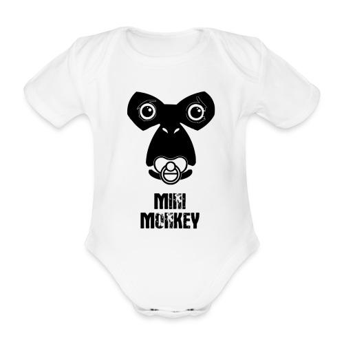 Monkey Fly - Monkey - Baby - Baby Bio-Kurzarm-Body