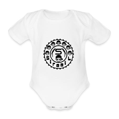 rawstyles rap hip hop logo money design by mrv - Ekologiczne body niemowlęce z krótkim rękawem