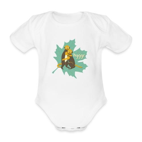 Erdmännchen Herbstfreunde Umarmung - Let's hygge - Baby Bio-Kurzarm-Body