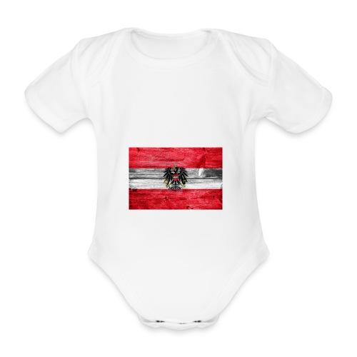 Austria Holz - Baby Bio-Kurzarm-Body