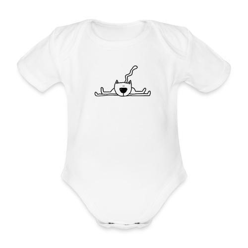 afbeelding77 007x copyroze - Baby bio-rompertje met korte mouwen