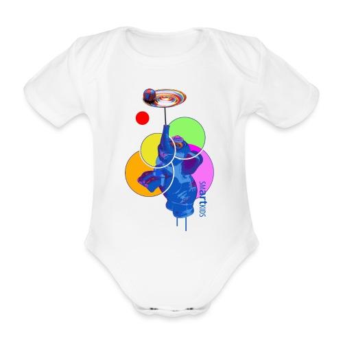 smARTkids - Mumbo Jumbo - Organic Short-sleeved Baby Bodysuit
