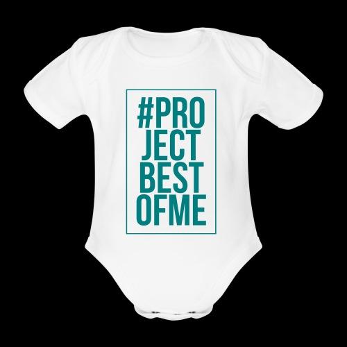 hashtag - Ekologisk kortärmad babybody