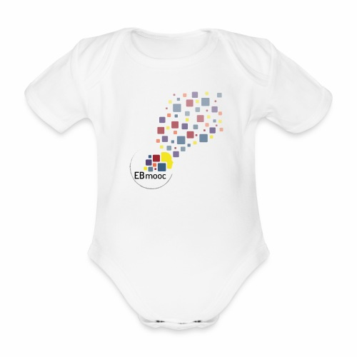 EBmooc T Shirt neutral - Baby Bio-Kurzarm-Body