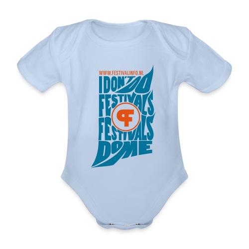 fi tshirt01 voor2 - Baby bio-rompertje met korte mouwen