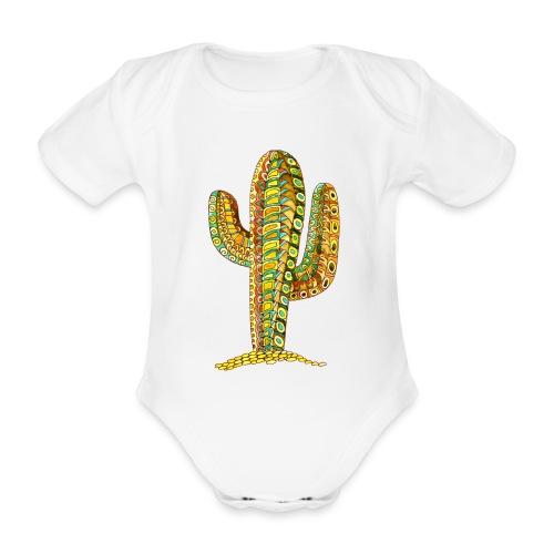 Le cactus - Body Bébé bio manches courtes