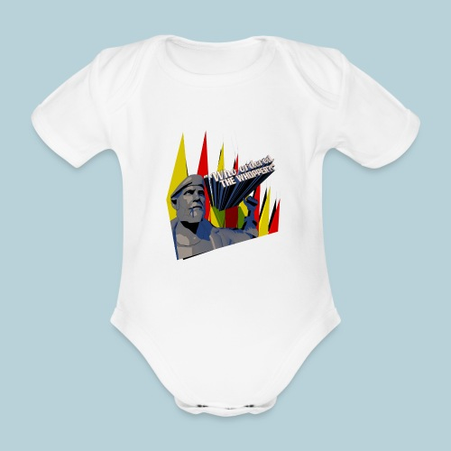 RATWORKS Whopper - Organic Short-sleeved Baby Bodysuit