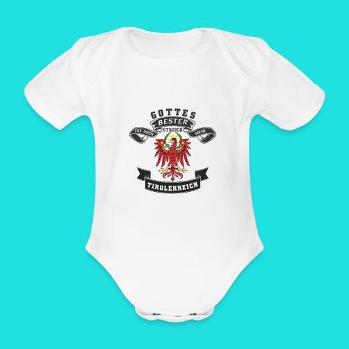 Tiroler - Baby Bio-Kurzarm-Body