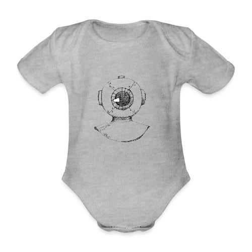 nautic eye - Baby bio-rompertje met korte mouwen