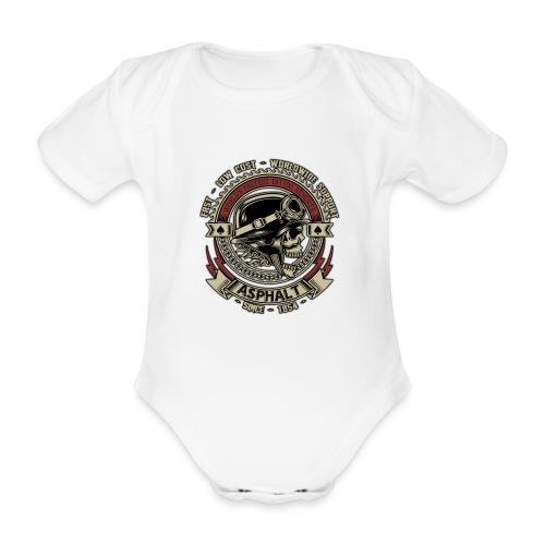 Asphalt - Body ecologico per neonato a manica corta