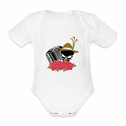 Rock Harmonika - Baby Bio-Kurzarm-Body