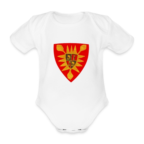 Exten Wappen Tasse - Baby Bio-Kurzarm-Body