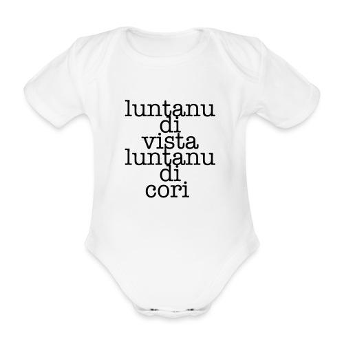 P3 - Body ecologico per neonato a manica corta