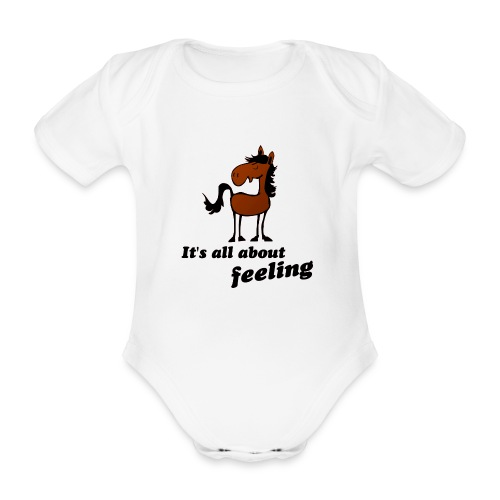 its all about feeling - Baby Bio-Kurzarm-Body