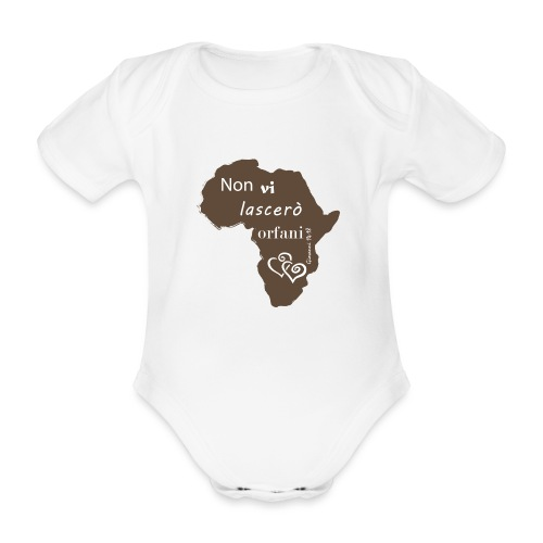 John 14 - Body ecologico per neonato a manica corta