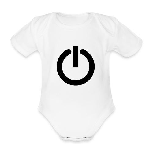 Camiseta GEEK mujer - Arreglo todo reiniciando - Body orgánico de maga corta para bebé