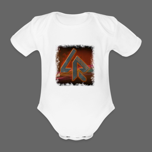 LPR Gaming BG Splash (Women) - Organic Short-sleeved Baby Bodysuit