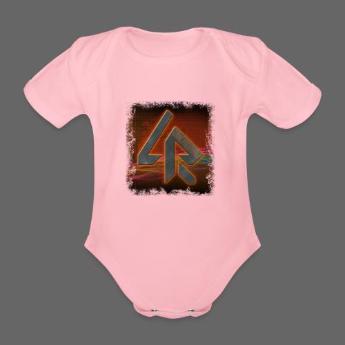 LPR Gaming BG Splash (Women) - Organic Short-sleeved Baby Bodysuit