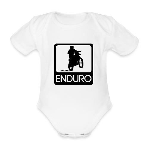 Enduro Rider - Baby Bio-Kurzarm-Body