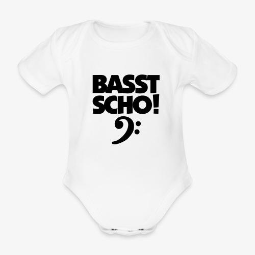 BASST SCHO! Bass Design für Bassisten - Baby Bio-Kurzarm-Body