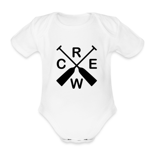 Drachenboot Crew - Baby Bio-Kurzarm-Body