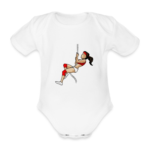 The Climber - Baby Bio-Kurzarm-Body