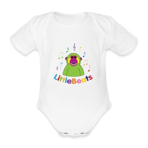 LittleBeats - Organic Short-sleeved Baby Bodysuit