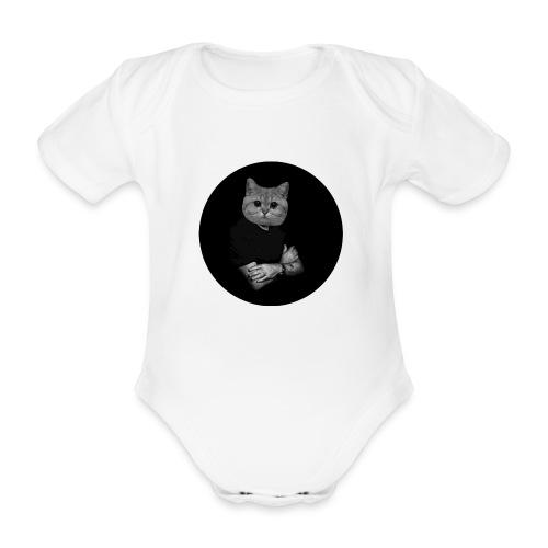 Starecat Co ja pacze - Ekologiczne body niemowlęce z krótkim rękawem