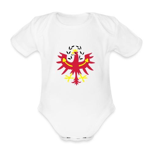Tiroler Adler - Baby Bio-Kurzarm-Body