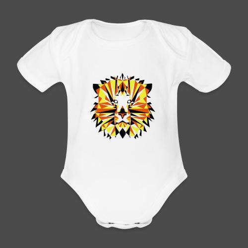 JG Lion - Organic Short-sleeved Baby Bodysuit