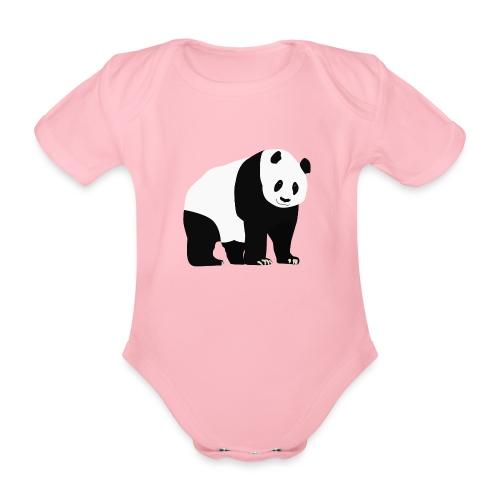 Panda - Vauvan lyhythihainen luomu-body