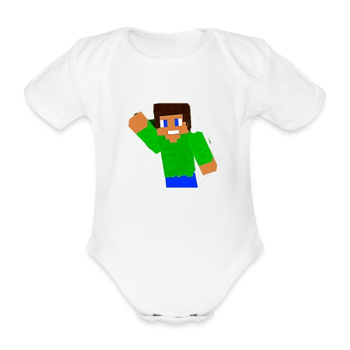 relapse special - Organic Short-sleeved Baby Bodysuit