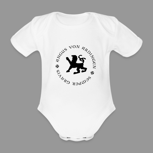 angus von ardingen semper gravis - Baby Bio-Kurzarm-Body