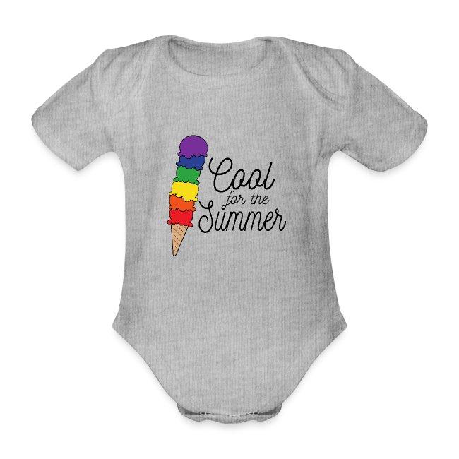 Cool für den Sommer   Eis   Regenbogen