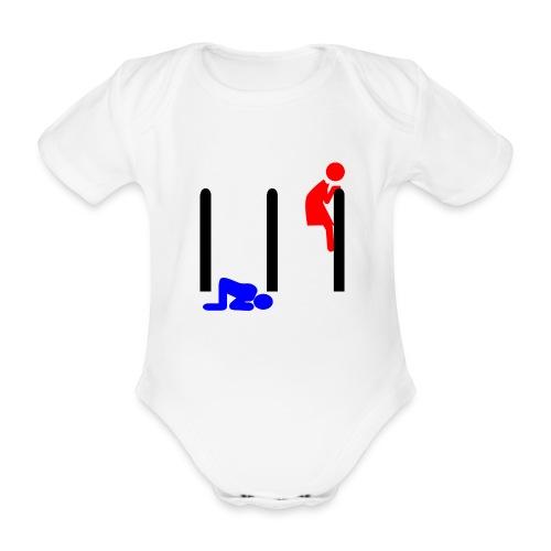 Mann und Frau - Baby Bio-Kurzarm-Body
