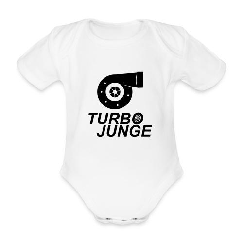 Turbojunge! - Baby Bio-Kurzarm-Body