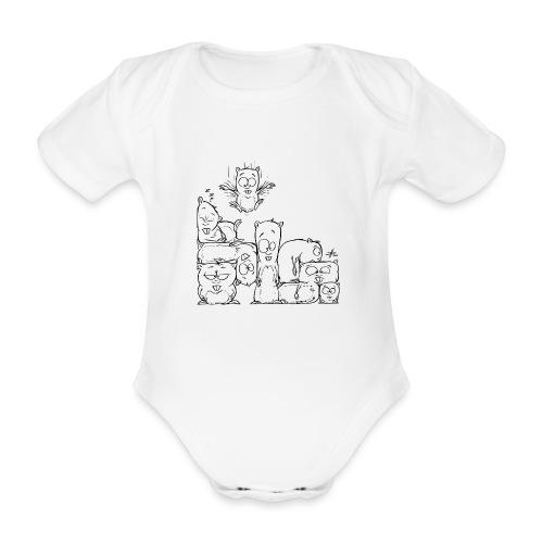 hamstris - Baby Bio-Kurzarm-Body