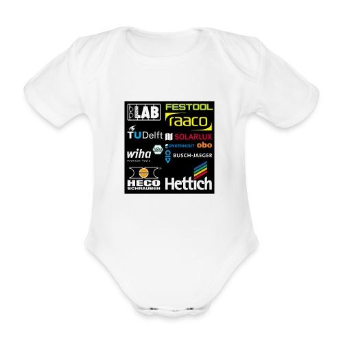 tshirt 2 rueck kopie - Organic Short-sleeved Baby Bodysuit