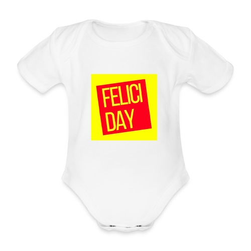 Feliciday - Body orgánico de manga corta para bebé