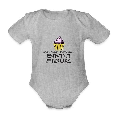 Bikinifigur. - Baby Bio-Kurzarm-Body