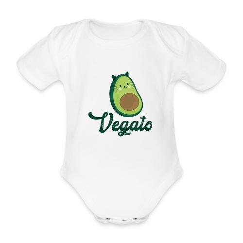Vegato - Body orgánico de maga corta para bebé