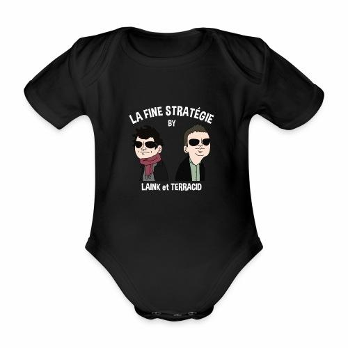 lafinestratégie - Body Bébé bio manches courtes