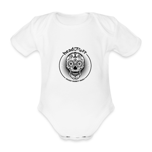 hC logoII star - Baby Bio-Kurzarm-Body