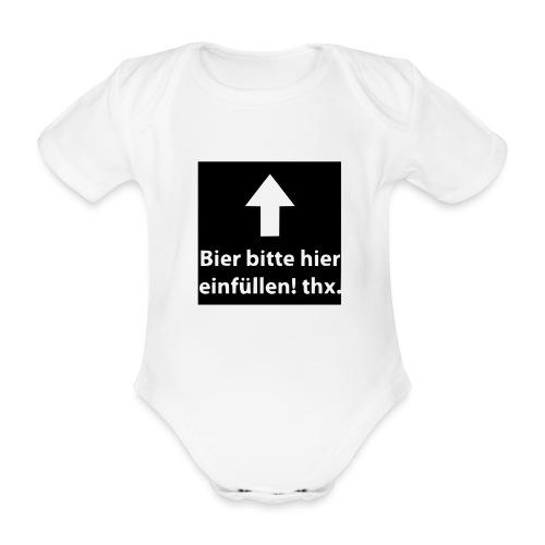 einfüllen1 - Baby Bio-Kurzarm-Body