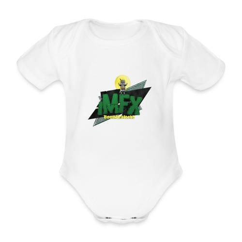 [iMfx] Lubino di merda - Body ecologico per neonato a manica corta
