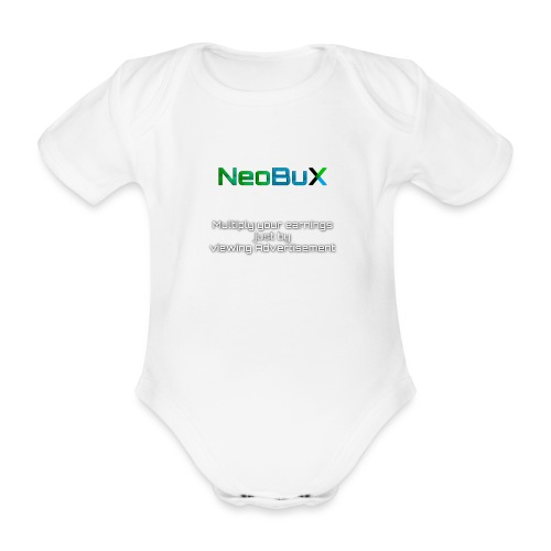 NeoBuX - Organic Short-sleeved Baby Bodysuit