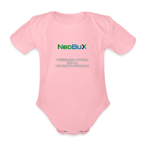 NeoBuX - Organic Short-sleeved Baby Bodysuit