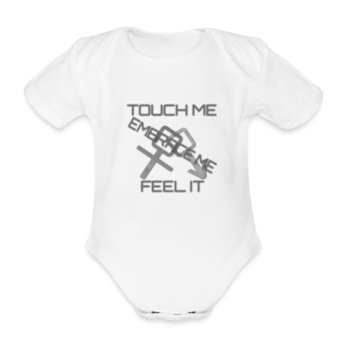 Sex & More retrò - Organic Short-sleeved Baby Bodysuit